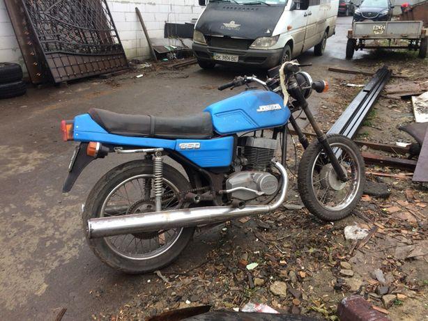 Мотоцикл Ява638 реставрація