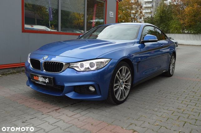 BMW Seria 4 Salon Pl*420d X Drive 190KM*M Pakiet*Aut*Professional*Kamera*Serwis*