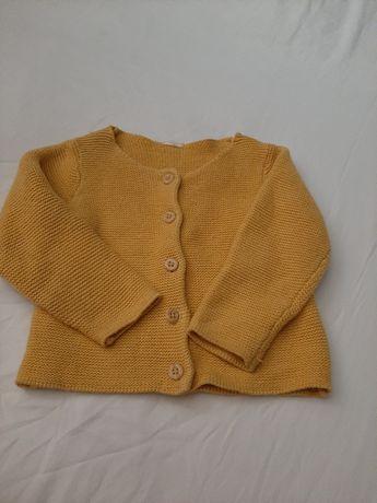 Sweterek dla dziewczynki 74