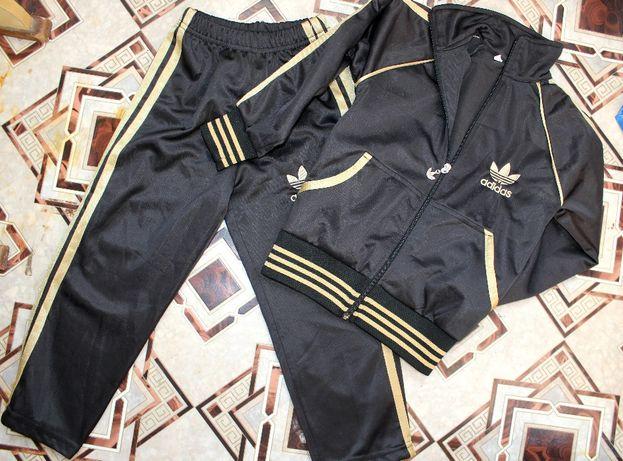 костюм adidas на 3-4 года черный