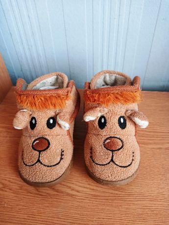 Ботинки, туфли, тапочки из текстиля, размер 22