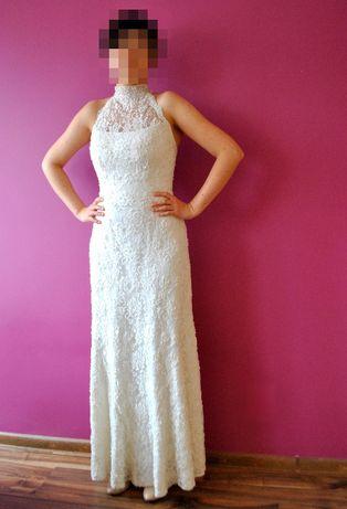 Suknia Ślubna GALA, Model ZETTI używana rozm.34-36