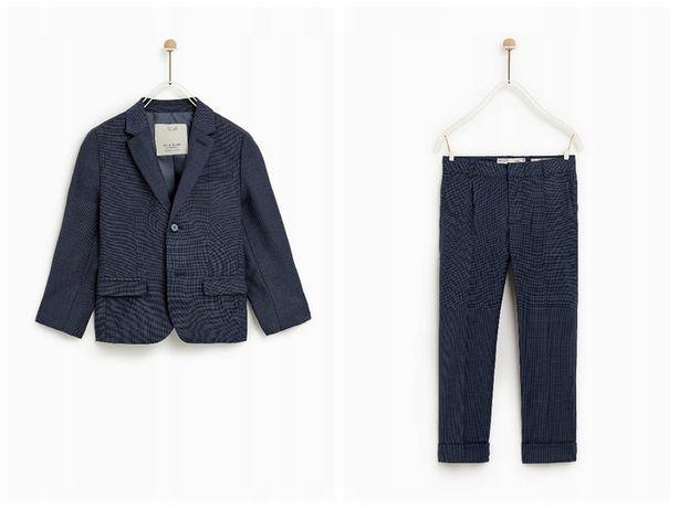 ZARA GARNITUR - marynarka + spodnie 152 dla chłopca