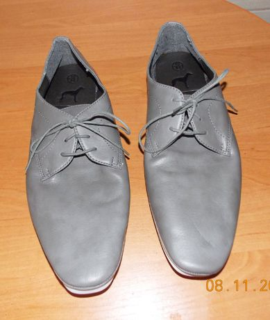 Кожаные туфли New Look для мужчины, размер 10 (43-44)