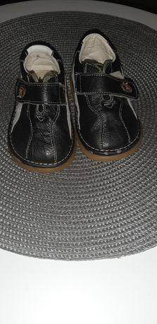 Skórzane buciki buty rozmiar