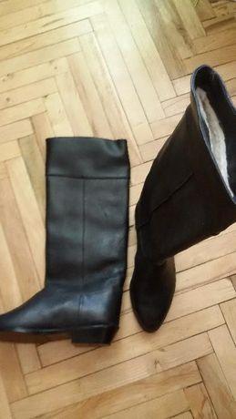 чоботи жін,шкіра,42 розмір