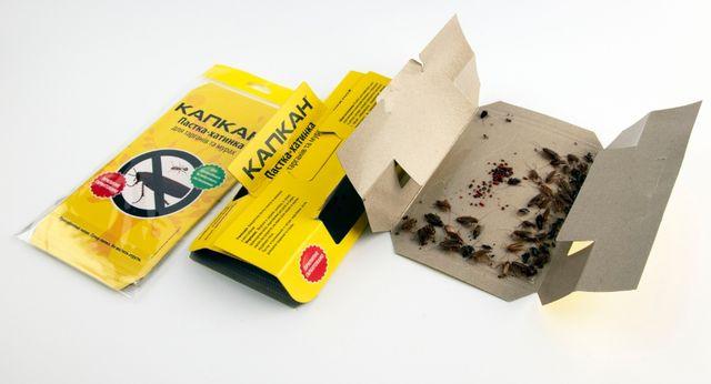 Ловушка для тараканов. Средство от тараканов. Капкан для тараканов.
