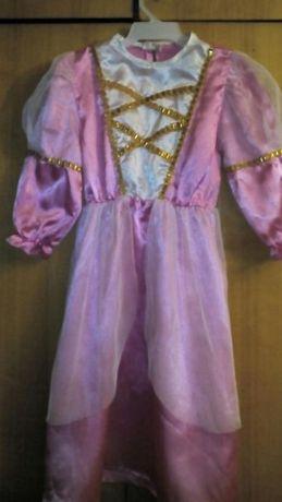 Рожеве карнавальне платтячко на 5-6 років