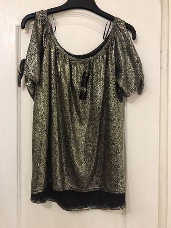 Блестящая блузка quiz, 2XL, 16
