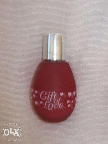 Frasco de perfume vazio