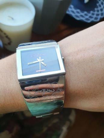 Relógio Oxbow prateado