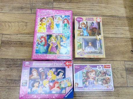 Puzzle księżniczki Disneya, Puzzle Jej wysokość Zosia, Puzzle