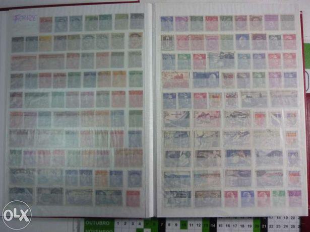 selos estrangeiros em albuns