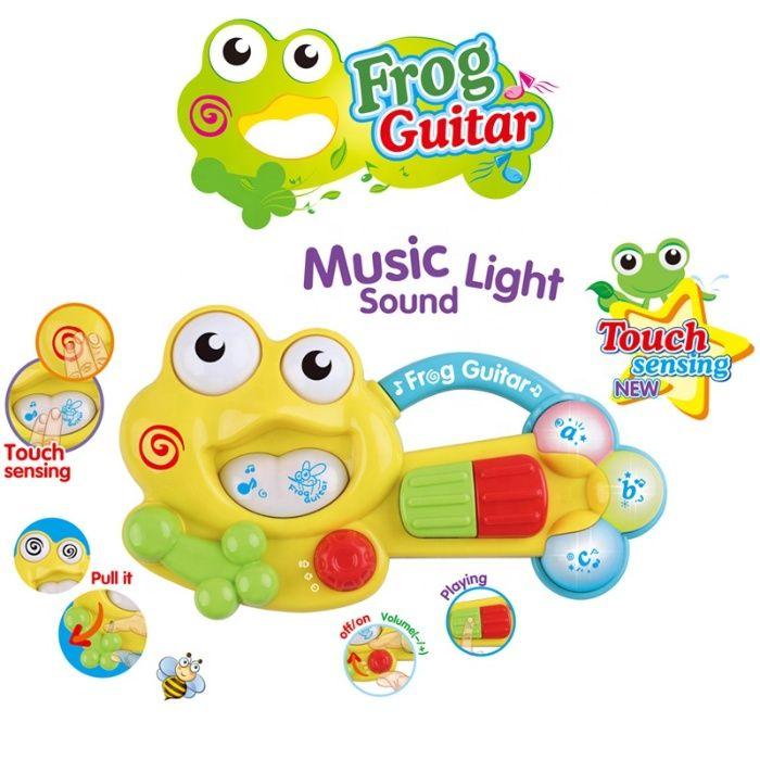zabawka edukacyjna żaba pianinko dźwięk zabawka sensoryczna Toruń - image 1