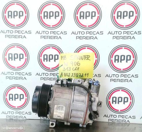 Compressor ar condicionado Mercedes Spriter W906 2011 313 CDI referência A0022307211
