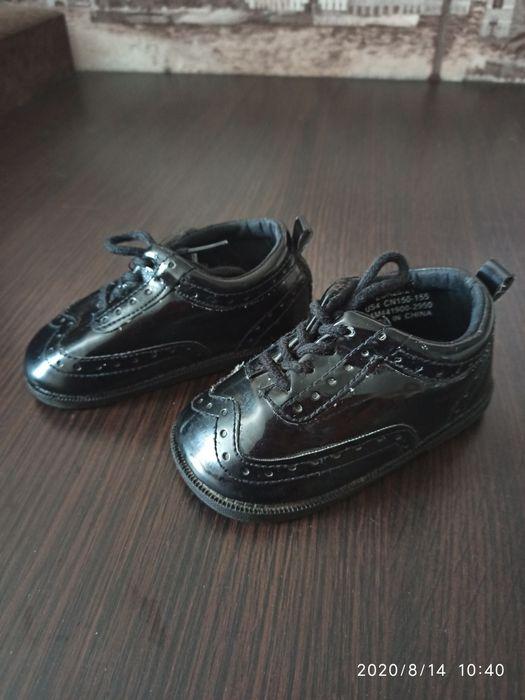 Продам детские лаковые туфельки. 20-21 размер. Коротич - изображение 1