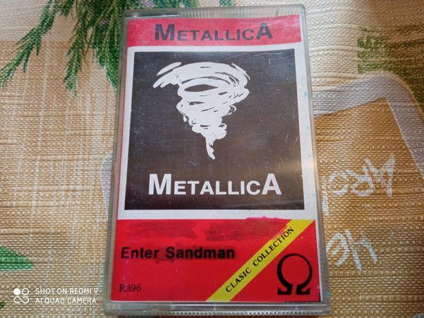 Metallica kaseta magnetofonowa