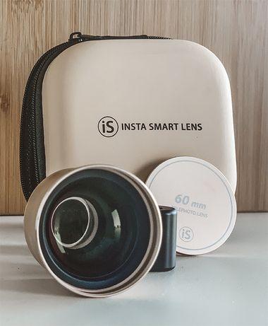 INSTA SMART LENS Obiektyw portretowy/zoom TELE 60MM