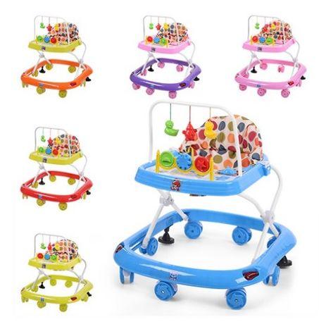 Ходунки детские с интерактивными игрушками Детский стульчик игровой