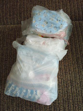 Детские вещи для новорожденных (есть новые),накладка на унитаз