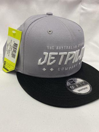 Czapeczka z daszkiem JetPilot szara
