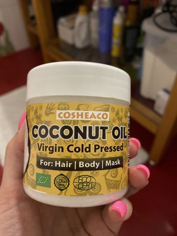 Нерафинированное кокосовое масло Cosheaco Coconut Oil