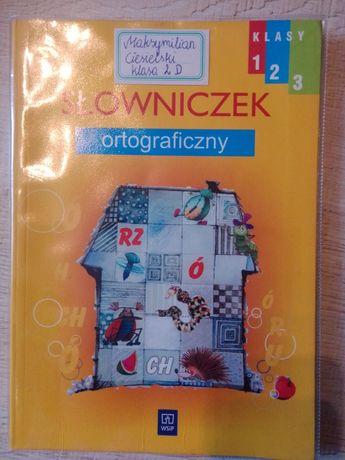 Słowniczek ortograficzny obrazkowy dla dzieci