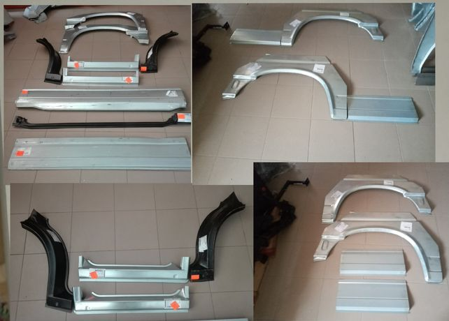 Пороги, арки, боковина, обшивки дверні VW Transporter T4