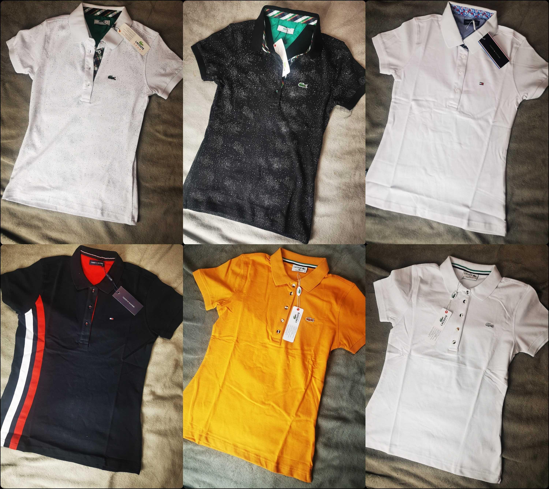Koszulka Polo koszulki Tommy Hilfiger damskie Lacoste Premium