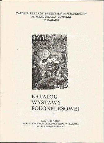 Katalog-teka Międzynar.Konkurs na Ekslibris ŻZPB im.W.Gomułki w Żarach