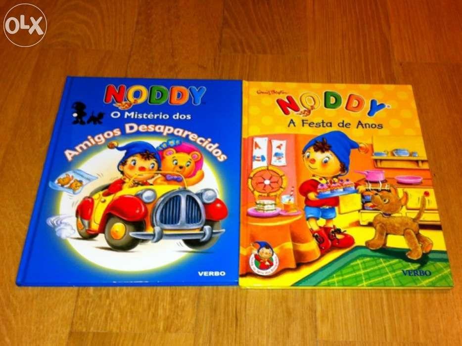 2 Livros Noddy Charneca De Caparica E Sobreda - imagem 1