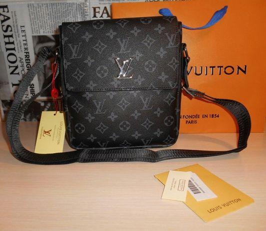 Skorzana męska torba Listonoszka Louis Vuitton, skóra, Francja LV 15-1
