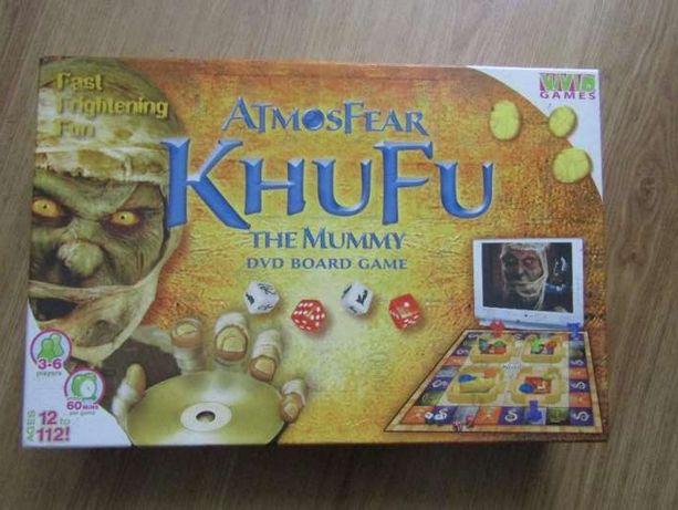 gra planszowa Atmosfear Khufu The Mummy DVD Game - Świetny prezent