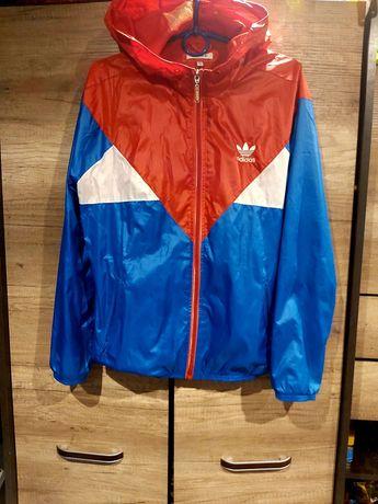Kurtka wiatrówka Adidas L/XL