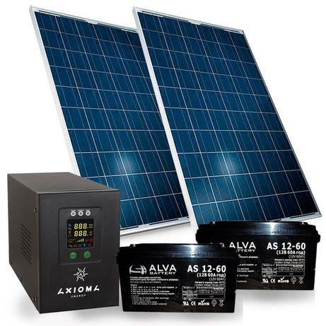 Автономная Солнечная электростанция для дома или дачи