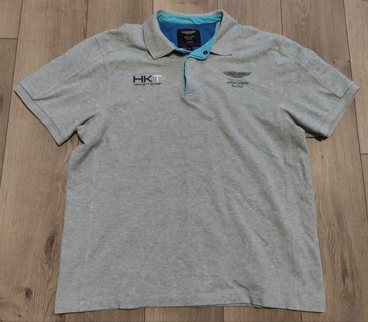 Aston Martin Racing by Hacket Sport polo t-shirt rozmiar XL