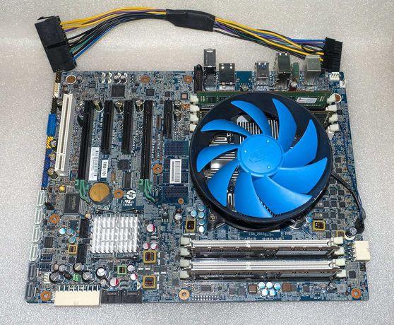 Комплект LGA 2011 HP Z420 X79 + Intel Xeon E5-2650 8 ядер + 16Gb DDR3