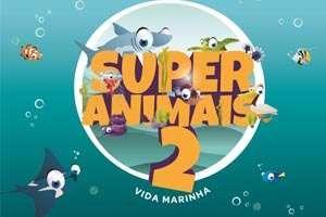 Super Animais 2 - conjunto de 118 cartas
