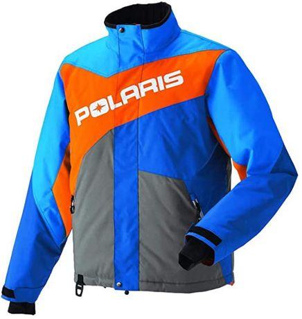Kurtka na quada Polaris Drifter Jacket Blue/Org L rozmiar L NOWA