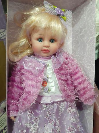 Кукла большая говорящая на украинском языке Маленька Пані