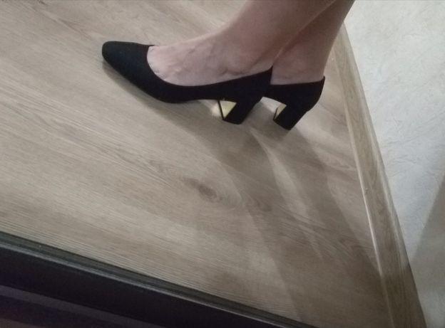 Новые туфли кожзам
