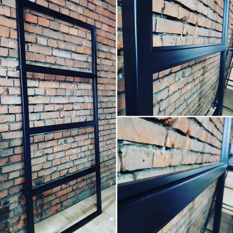 Drzwi industrialne, Ścianki działowe stalowe