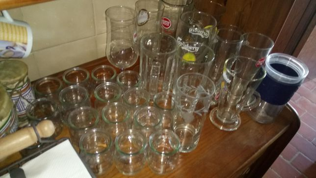 Lote copos e chavenas 10€