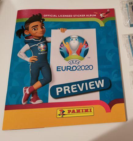 Caderneta e Cromos Panini Euro 2020 Preview completa