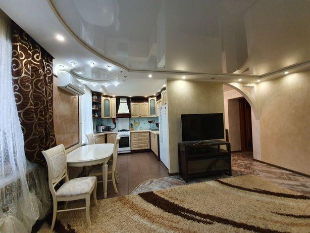 Классная 3-комнатная с капитальным ремонтом, улучшенная планировка !