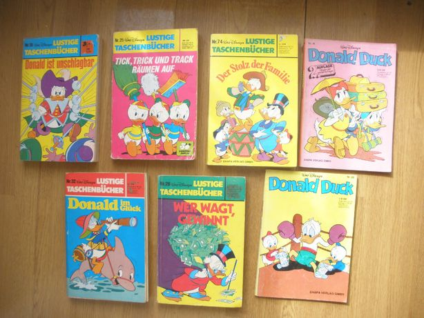 Gigant Mamut po niemiecku Donald Duck komiks książka 256 stron niemiec