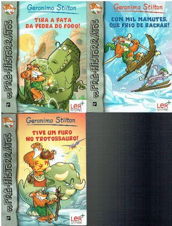 5916 Colecção Os Pré-Historratos de Geronimo Stilton /PNL