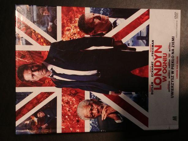 Film dvd Londyn w ogniu Morgan Freeman
