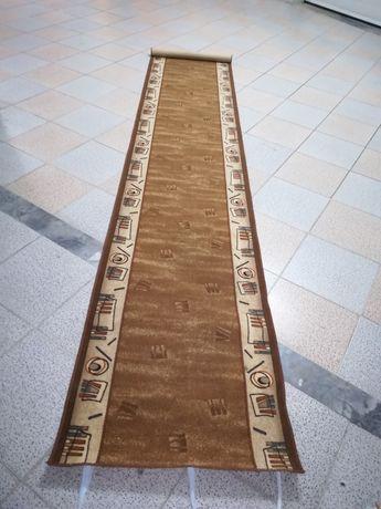 Carpete com cores suaves