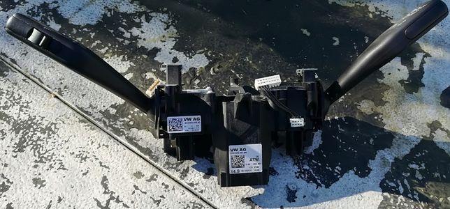 Manete / comutador de piscas e escovas Skoda Octavia carrinha 2012